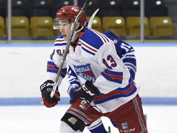 Double duty not slowing down Oakville Blades' Tyler Rollo