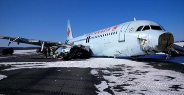 Plane hit antenna array before crash: TSB-Image1