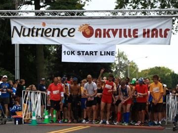 Great turnout at Nutrience Oakville Half Marathon