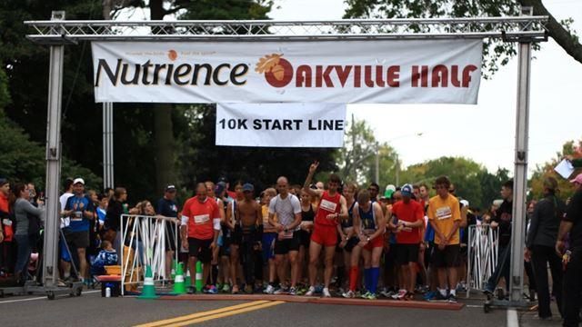 Great turnout at Nutrience Oakville Half Marathon