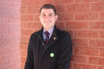 Kingston and the Islands Green Party candidate Nathan Townend.