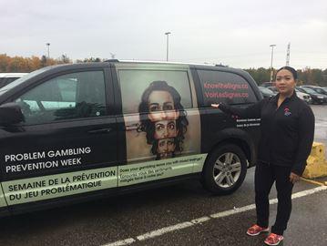 Responsible Gambling Council visits Milton to raise awareness of problem gambling