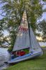 Scouts launch KC, their new 420 sailboat