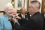 Ontario Lieutenant Governor with First Poppy