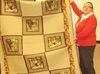 Bonnie McDonald's wolf quilt