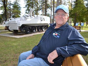 Veterans' group enhancing Angus park