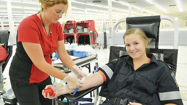 First responders call for more blood donations in north ...