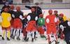 On-ice instruction