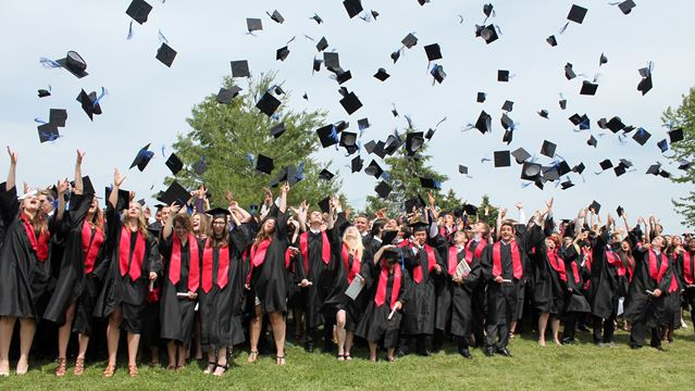Hats off to 2015 grads