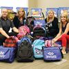 Town donates back-to-school supplies