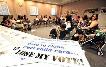 how to start a nonprofit child care center oakville ontario
