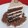 Malted milk chocolate cake