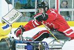 Midland sledge-hockey star Adam Dixon looks on bright side