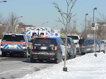 Single vehicle collision