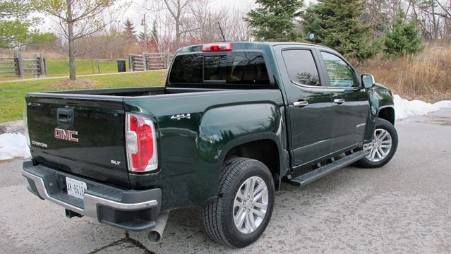 road test gmc canyon slt 4wd diesel is a mid size pickup with full size power. Black Bedroom Furniture Sets. Home Design Ideas