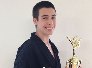 Stayner martial arts student wins advanced fighting division
