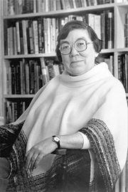 Canadian novelist Margaret Laurence