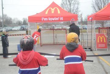 Rogers Hometown Hockey in Peterborough