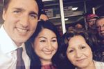 Justin Trudeau, Maryam Monsef, and Soriya Basir