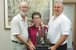 Armstrong and Barry win Mink title in dramatic fashion at Midland and District Lawn Bowling Club
