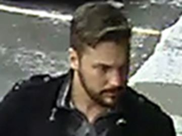Male suspect sought