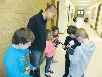 iPads donated to Bobcaygeon Public School