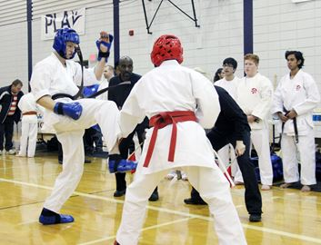Karate fundraiser