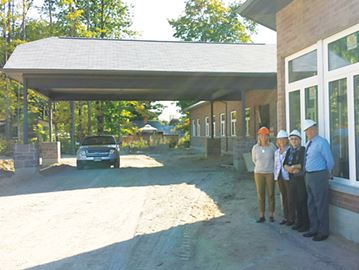 Construction progressing on Wendat seniors residence in Penetanguishene