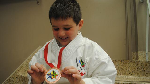 Stoney Creek S Daniel Baruzza Earns Bronze Medal At First World Karate Championships