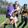 D4/10 girls' rugby Spartans vs. Falcons