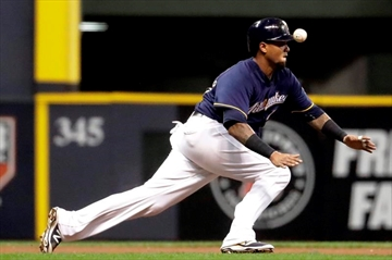 Peralta keeps making most of 2nd chance, but Brewers lose-Image2