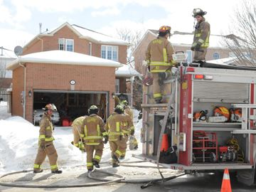 Barrie house fire