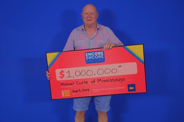 Mississauga man wins $1M Encore prize in Lotto Max draw