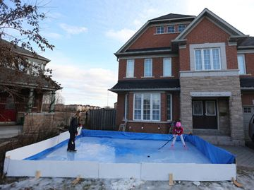 Ajax family ordered to dismantle tiny front yard ice rink or face fine of up to $25,000