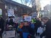 John Fisher protest