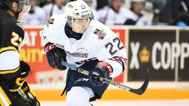 Oshawa Generals move into top spot in Ontario Hockey ...