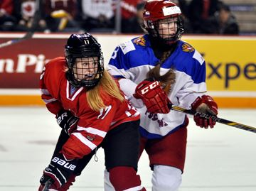 Maltais proud to wear red and white