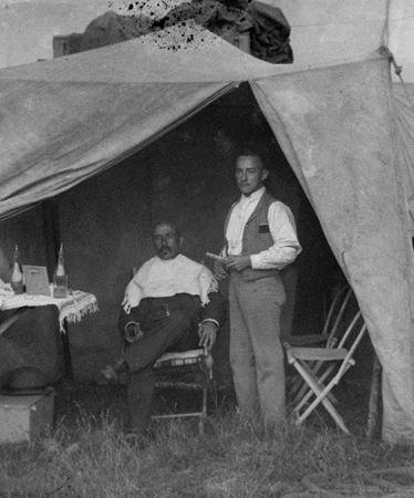 Barber tent