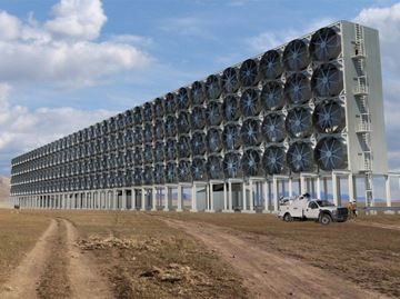 CO2 air capture system