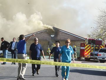 Fairview Lodge fire