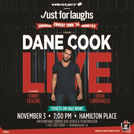 Just for Laughs Comedy Tour with Dane Cook