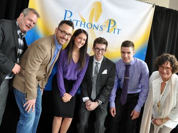 Burlington high school students impress the Pythons