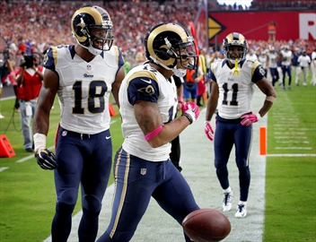Rams WR Bailey critical, stable after being shot in Florida-Image1