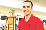Connor Dorion rolls his way into Midland Sports Hall of Fame