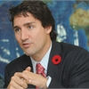 Justin Trudeau on the campaign trail in Whitby-Oshawa