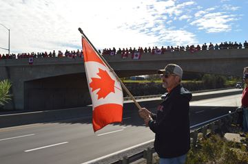 Brockville pays tribute to fallen soldier
