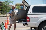 Barrel of fun at Halton truckload sale