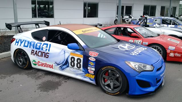 Hyundai Genesis Coupe To Compete In Canadian Touring Car