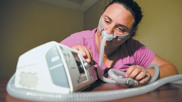 severe side effects from cpap machine
