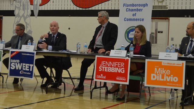 Flamborough Chamber of Commerce debate
